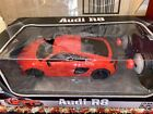 New Speed Tech AUDI R8 V10 Red 1:24 Remote Control Car R/C Full Function Toy Box
