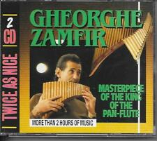 GHEORGHE ZAMFIR - Masterpiece Of The King Of The Pan-Flute (2 CD BOX) 37TR 1988