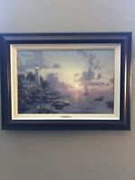 Thomas Kinkade The Sea of Tranquility Seaside Memories V  P/P Canvas 18X27