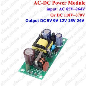 AC-DC 110V 220V to DC 5V 9V 12V 24V Power Supply Buck Converter Step Down Module