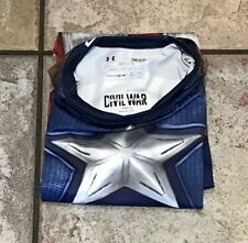 NWT Under Armour Alter Ego Capt. America Compression Shirt Mens S UA 1273691-410
