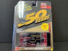 Johnny Lightning Toyota Land Cruiser 1980 Black and Gold Series JLCP7197 1/64
