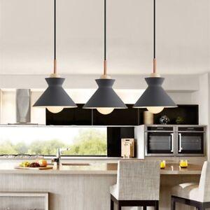 Kitchen Pendant Light Bar Lamp Room Grey Ceiling Lights Wood Pendant Lighting