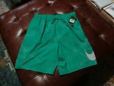 NWT New Men's Nike Swim Shorts Bathing Suit Green $62.00 Retail Large L. 718375