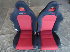 Honda Civic Type R EP3 2003-2006 Pair facelift front Seats +rails Bucket Race 5