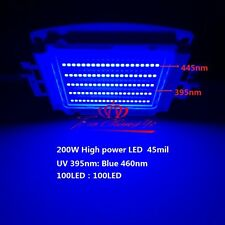 200W 45mil SMD High Power LED Ultra Violet UV 395NM + royal-blue  UV:Blue 33-36V