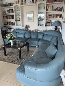 leder sofa eck couch garnitur gebraucht