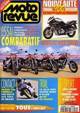 MOTO REVUE 3140 SUZUKI 750 GSX-R Formula YAMAHA XV 535 Virago XJ KAWASAKI 500 EN
