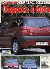 Z83 Ritaglio Clipping 1994 Alfa Romeo 145 1.7 16v L Honda Civic 1.6 ESi 3 porte