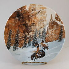 Julie Kramer Cole - The Faces Of Nature - Canyon Of The Cat Collector Plate