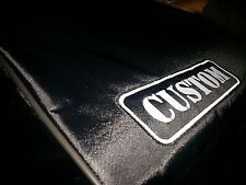 Custom padded cover for Moog Memorymoog keyboard