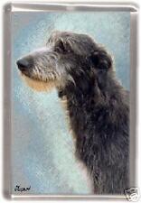 Deerhound  Fridge Magnet by Starprint - Auto combined postage