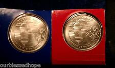 2009 P+D Puerto Rico State Quarters US Territories Satin Mint Packaging 2 COINS