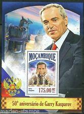 MOZAMBIQUE 2013 50th BIRTH ANNIVERSARY OF GARRY KASPAROV  SOUVENIR SHEET MINT NH