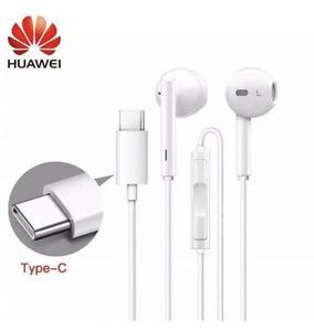Original Huawei Type C USB-C Earphones Stereo Headphones For Mate20, P20/P30 Pro