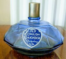 RARE VINTAGE DUBARRY OLD ENGLISH LAVENDER perfume bottle for COLLECTORS