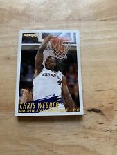 Chris webber and other sports cards from fleer 94-95