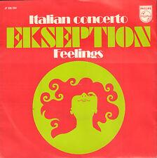 "EKSEPTION – Italian Concerto (1970 NEDERPOP VINYL SINGLE 7"")"