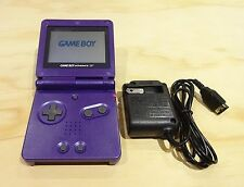Nintendo Game Boy Advance GBA SP Purple System MINT NEW!