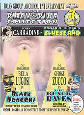 The Black & Blue Collection DVD Bluebeard Black Dragons Raven Bela Lugosi Troma