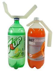 2-Liter Bottle Handle Open Loosen Grab Pour Holder Soda Caddy Arthritis Help USA