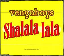 VENGABOYS SHALALA LALA PROMO SINGLE CD - EXCELLENT - VGC