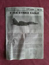 Maquette Neuve ITALERI 1/72 Avion F-15E STRIKE EAGLE