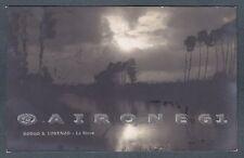 FIRENZE BORGO SAN LORENZO 07 Fiume SIEVE Cartolina FOTOGRAFICA viaggiata 1924