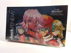 Dot Hack Enemy Contagion Booster Box *Factory Sealed* 30 Packs per box .hack//