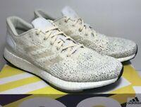 Adidas Womens Sz 10 PureBoost DPR Ivory White Black Training Running Shoe B75813