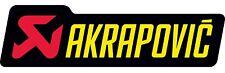 Akrapovic Exhaust Sticker P-HST6AL