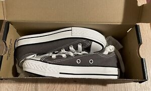 Converse Kids gray grey shoes new original FREE SHIPPING US 11 EU 28 size unisex