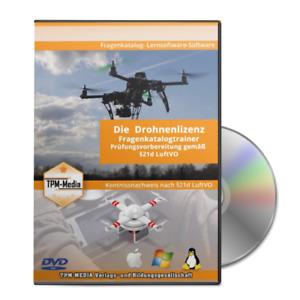 Drohnen - Pilotenlizenz Fragenkatalogtrainer  / Prüfungstrainer