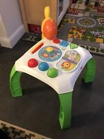 Fisher Price Animal Friends Learning Activity Play Table Toy - Mattel CCP66