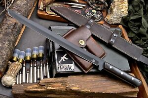 CFK IPAK Handmade D2 Custom 20-INCH Tactical Katana Tanto Short Sword Knife