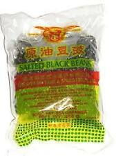 Salted black beans fermented black soy bean, High Quality 454g