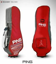 2021 Ping Premium Fabric Travel Golf Bag Cover Red Hood Case Flight Carry_UK