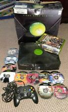Microsoft Xbox Console Boxed with games (2005, Original / Classic) FREE POSTAGE!