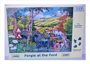 Fergie At The Ford New Release Strathearn 1000 House of Puzzles Jigsaw Puzzle