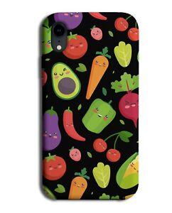 Vegetables Phone Case Cover Veggie Veggies Veg Fruit Pattern Design Print M322