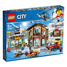LEGO® City Town 60203 Alpin Ski Resort Ski-Shop Rettungsstation Snowboard
