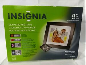 """Insignia NS-DPF0812W 8"""" Digital Picture Frame ***** NEW ****** FREE SHIPPING"""