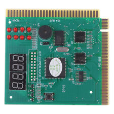 Motherboard Tester Diagnostics Display 4-Digit PC Computer Mother Board Analy YU