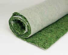 "Moss Roll 18"" x 50""  Miniature Fairy Hobbit Gnome Garden MR50 Dollhouse  Craft"