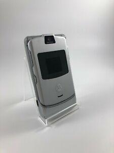 Motorola V3 silber Kamera defekt Simlockfrei 12 Monate Gewährleistung