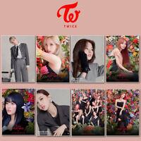 2pcs/set Paste Posters Kpop TWICE Eyes Wide Open Album