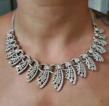 Absolutely Stunning Women's 18k Solid Gold And Diamond Necklace $52,000 retail