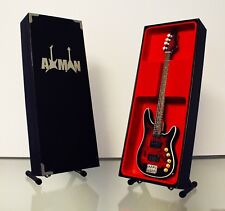 Roger Glover (Deep Purple): Vigier - Guitar Miniature Replica (UK Seller)