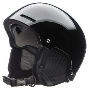 NEW High End RARE $100 Adult Anex AUDIO Speakers Snowboard/Ski Helmet Black Mens