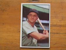 1953 BOWMAN COLOR BASEBALL WILLARD MARSHALL CARD # 58 EXMT CONDITION